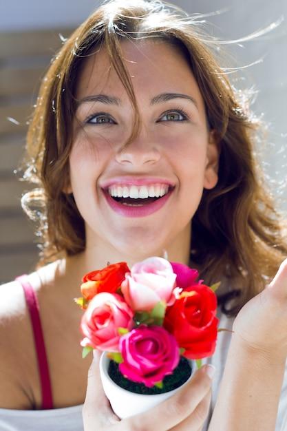 Mujeres Hermosas Flores De Adultos Ramo Descargar Fotos Gratis