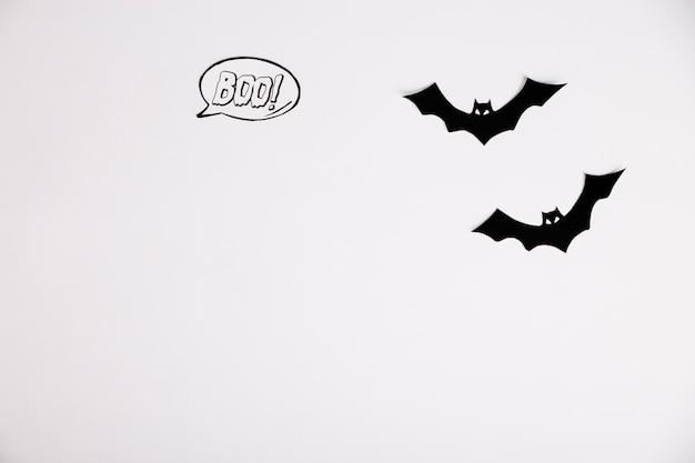 Murciélagos decorativos de halloween de papel | Descargar Fotos gratis