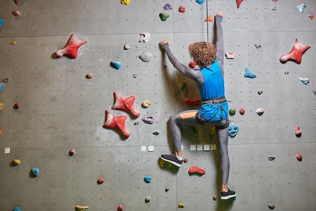 Muro de escalada Foto gratis