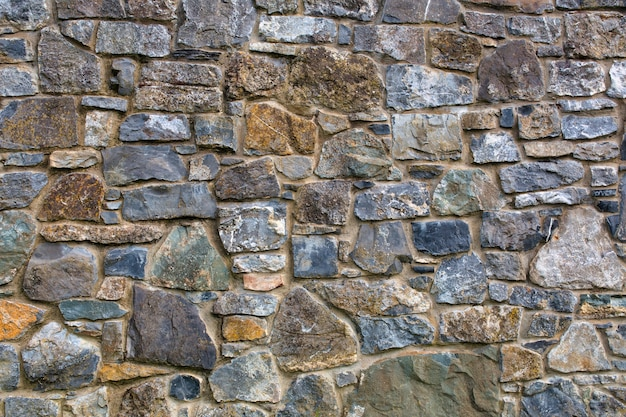 Muro de piedra, fondo de textura. Foto Premium