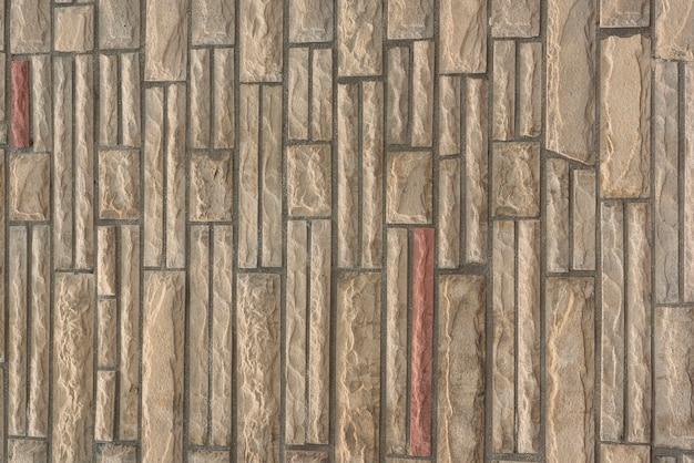 Muro de piedra con patrón intrincado Foto gratis