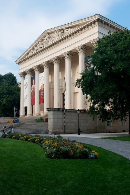 Museo nacional húngaro Foto Premium