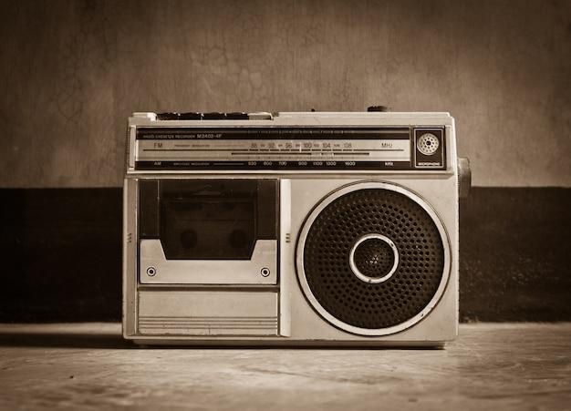 Música eléctrica de fondo antiguo retro Foto gratis