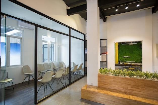 Nadie, oficina, vestíbulo, madera, banco Foto gratis