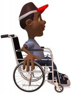 niño en una silla de ruedas, sillas de ruedas Foto Gratis