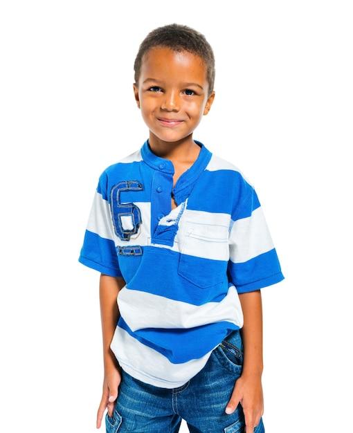 Un niño lindo Foto gratis