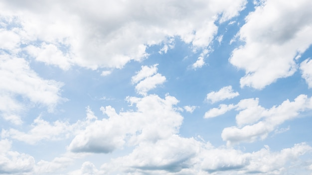 Nube blanca Foto gratis