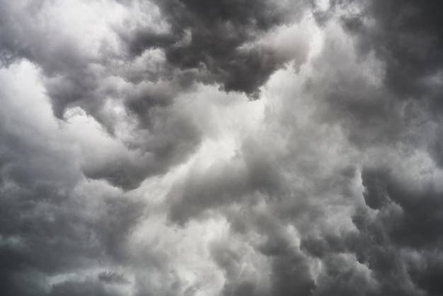 Nubes de tormenta Foto gratis