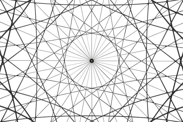 Obra de arte arquitectónico abstracto Foto gratis