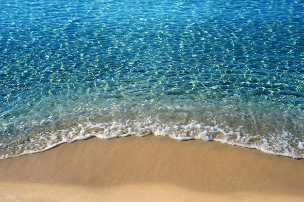 Resultado de imagen de Las olas rompen en la playa