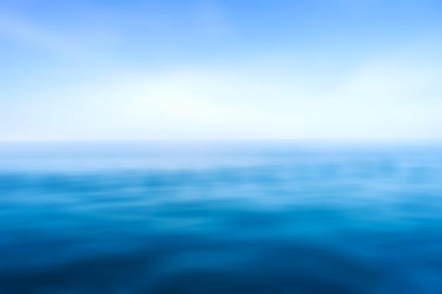 Las olas del mar azul superficie patrón de fondo abstracto Foto Premium