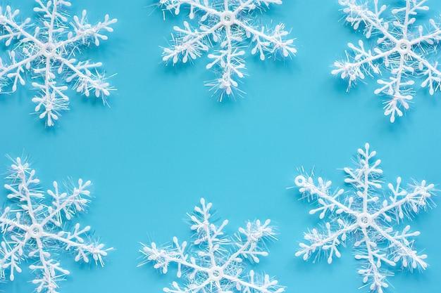 Copos De Nieve Para Decorar Fiesta Frozen.Ornamentos Y Decoracion Del Copo De Nieve De Navidad En El