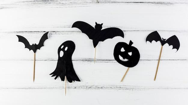 Oscuras figuras de papel de miedo para halloween | Descargar Fotos ...