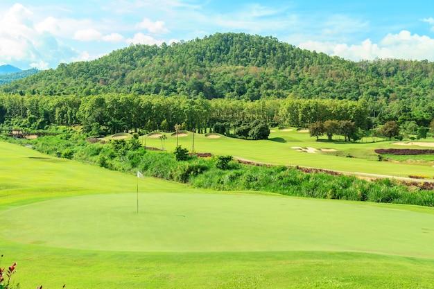 Paisaje del campo de golf descargar fotos gratis - Como vallar un campo ...