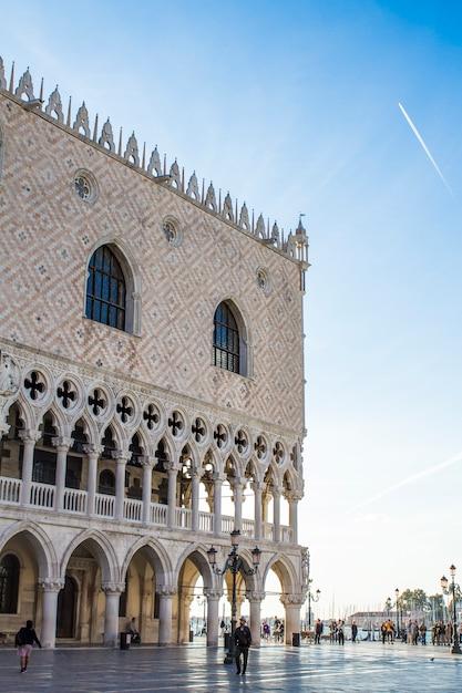 Palacio ducal de venecia Foto Premium