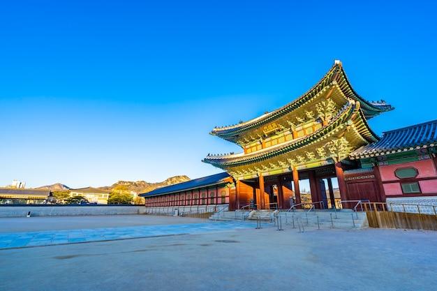 Palacio gyeongbokgung Foto gratis