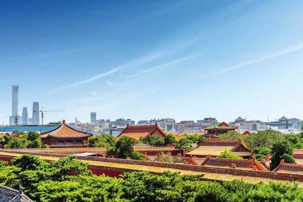Palacio imperial de beijing, china Foto Premium