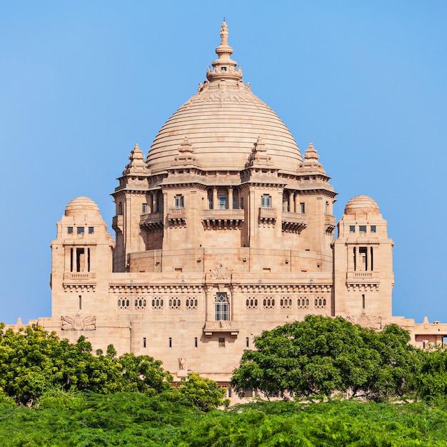 Palacio de umaid bhawan Foto Premium