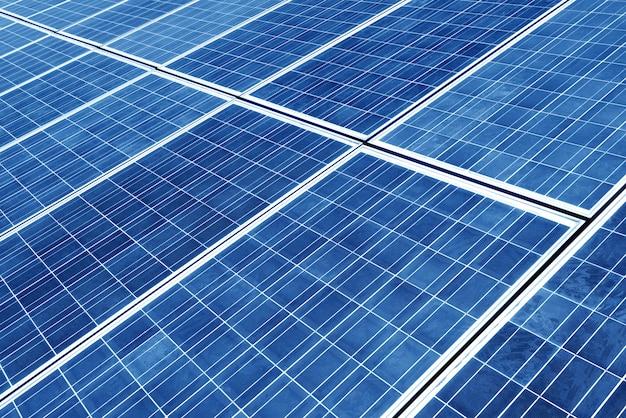 Panel solar Foto Premium