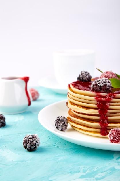 Panqueque para el desayuno Foto Premium