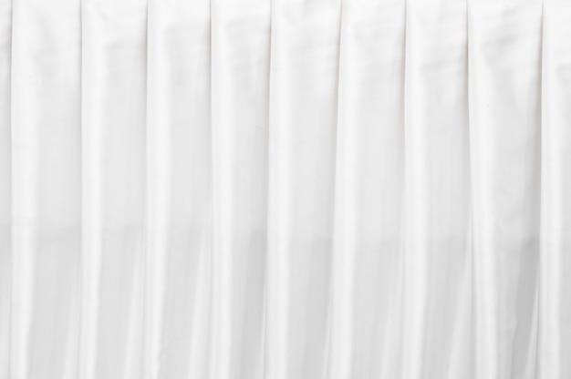 Papel tapiz de textura de cortina blanca abstracta para el fondo Foto Premium