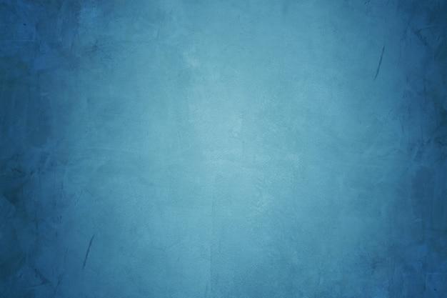 Pared de cemento azul y fondo de papel tapiz de hormigón de grunge Foto Premium