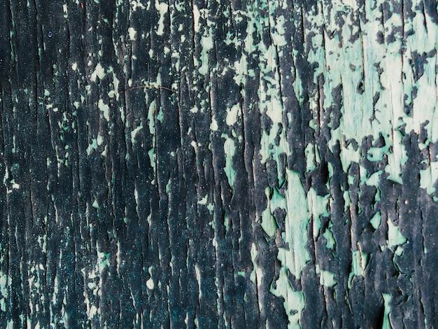 Pared con fondo con textura de pintura pelada Foto gratis