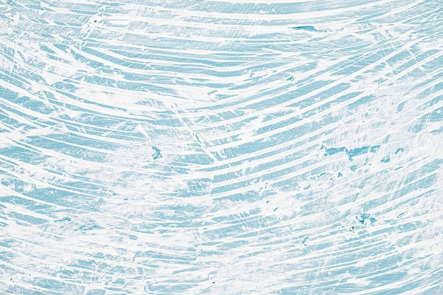 Pared pintada desordenada con azul y blanco Foto gratis
