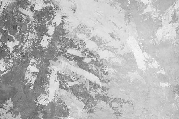 Paredes de yeso estilo loft, gris, blanco, espacio vacío utilizado como papel tapiz. popular en casa Foto Premium