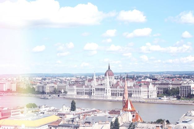 El parlamento de budapest Foto gratis