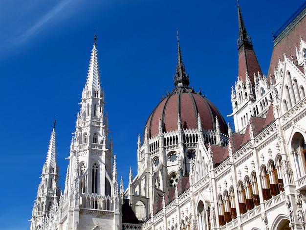 El parlamento en budapest Foto Premium