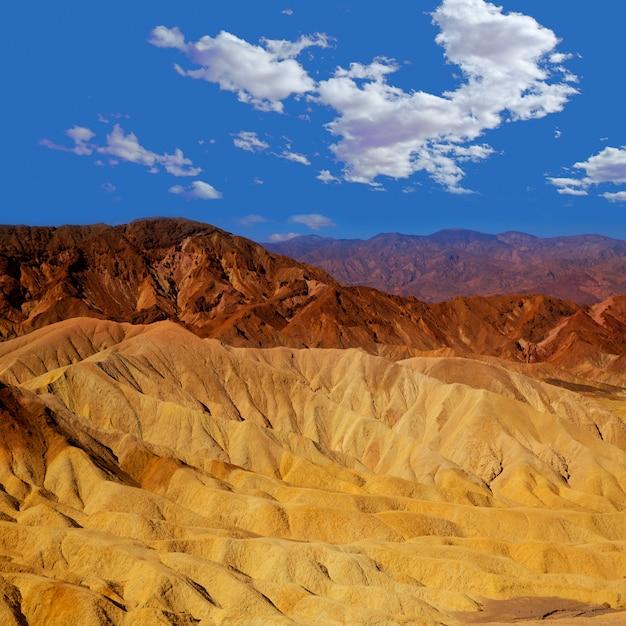 Parque Nacional Del Valle De La Muerte California Punto Zabriskie