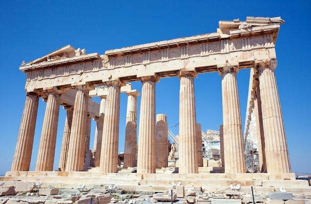 Partenón de la acrópolis, atenas, grecia Foto Premium