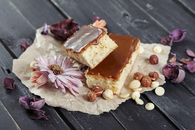 Pastel dulce Foto Premium