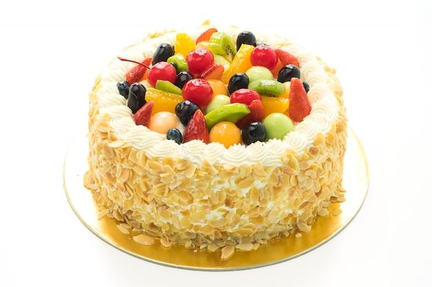 Pastel de frutas Foto gratis