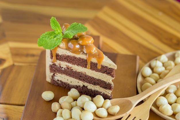 Pastel De Macadamia Y Nuez De Macadamia Descargar Fotos