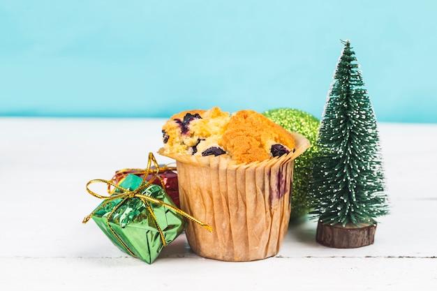 Pastel De Navidad Y Ano Nuevo Descargar Fotos Premium