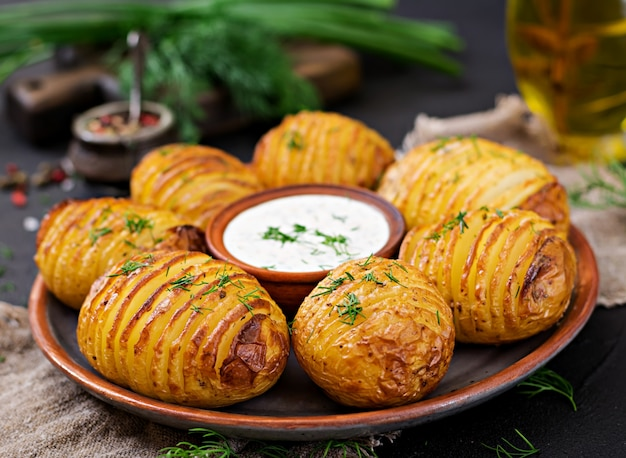 Comidas saludables con patatas
