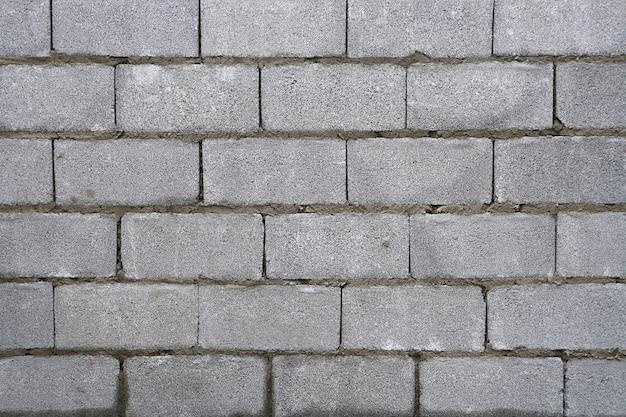 Patrón de pared de ladrillo blanco. Foto Premium