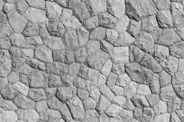 Patrón de roca color gris y planta mos de diseño moderno de estilo decorativo. Foto Premium