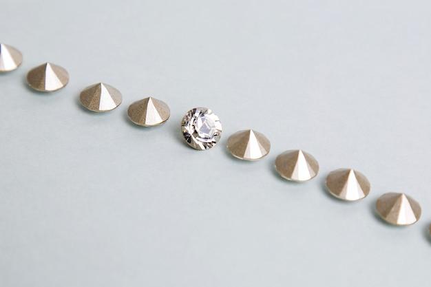 Pequeños pedazos de diamantes Foto gratis
