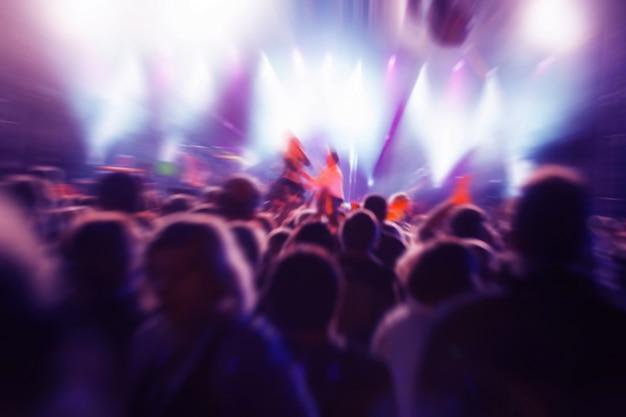 Personas en un concierto Foto gratis