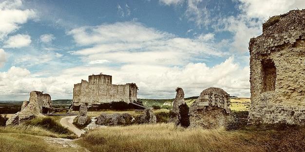 Piedras de construcci n ruina ruinas del castillo ch teau - Piedras para construccion ...