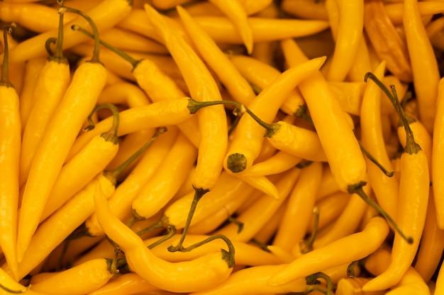 Pimiento naranja caliente Foto Premium