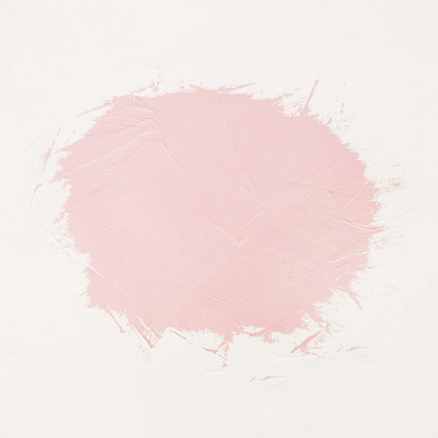 Pinceladas de pintura rosa con espacio para tu propio texto. Foto gratis