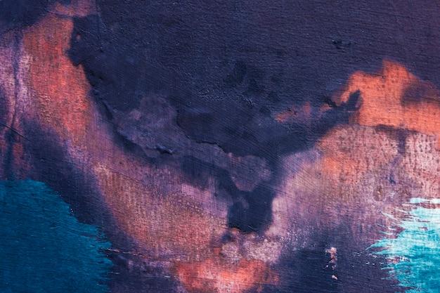 Pintado colorido pintado fondo texturizado Foto gratis