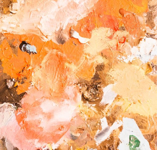 Pintura abstracta mezclada fondo texturizado Foto gratis