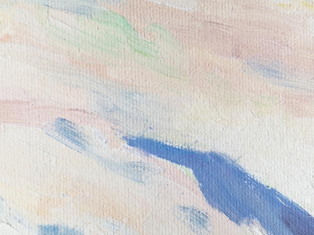 Pintura acrílica con pasteles. Foto Premium