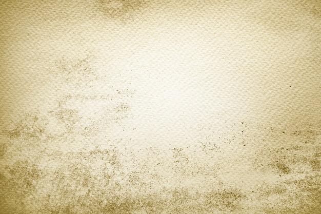 Pintura amarilla sobre papel Foto gratis