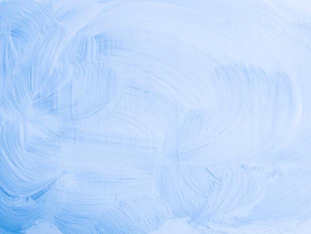 Pintura minimalista de color azul claro. Foto gratis